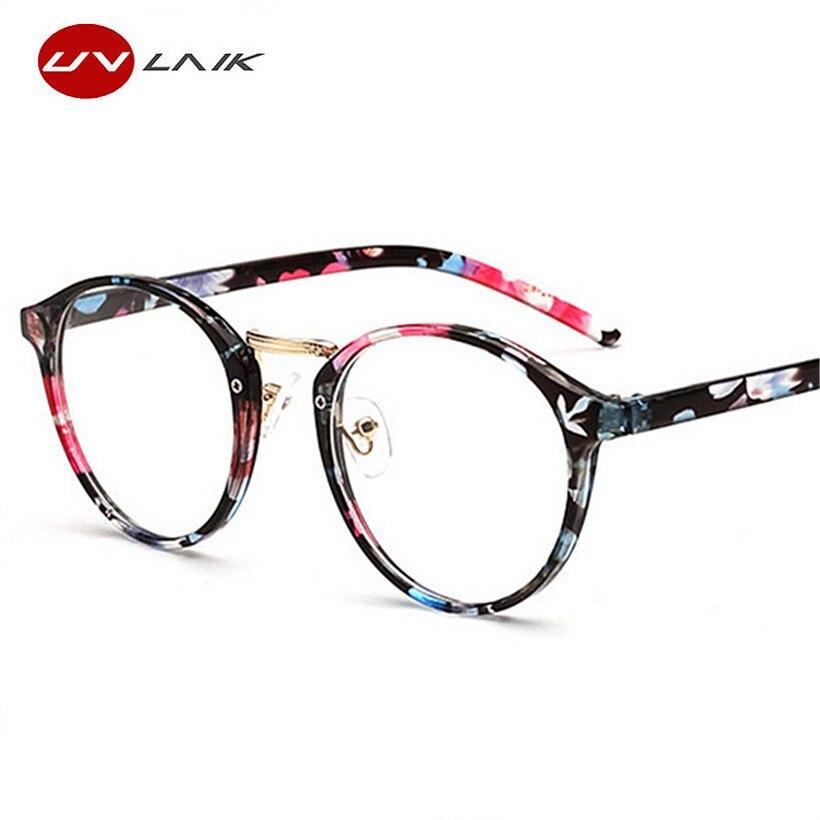 32dd4b1f6656a UVLAIK Optical Glasses Frame Boston Type Eyeglasses Myopia Frames Women ...