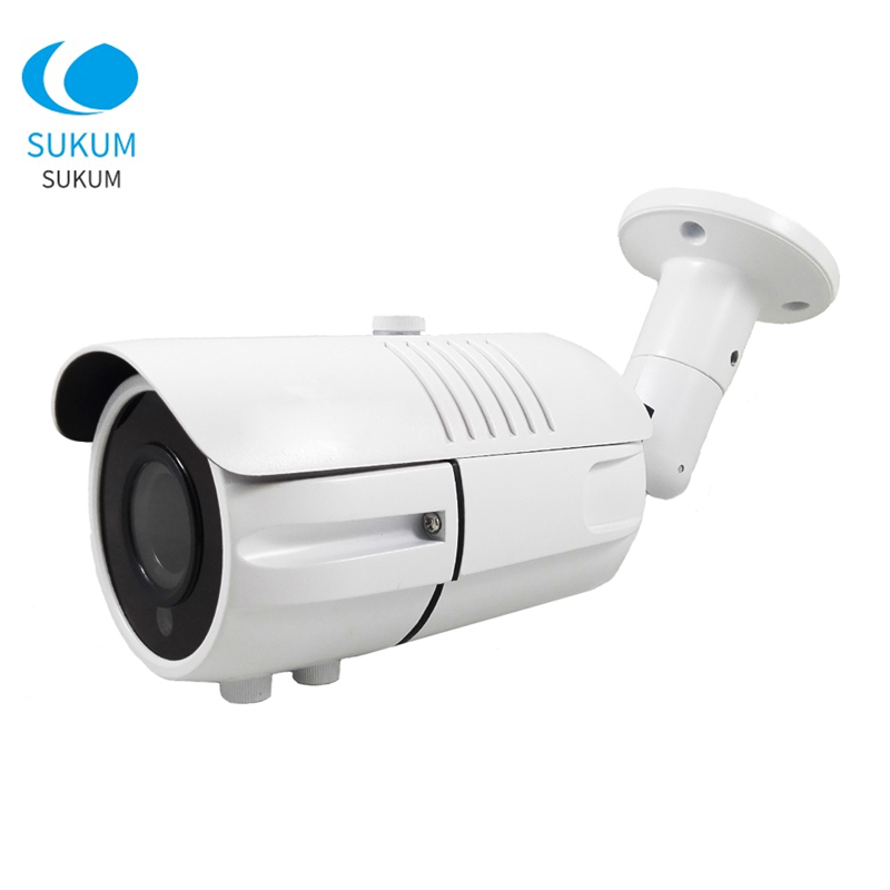POE Outdoor IP Camera 5MP Full HD 4X Optical Zoom IP66 Waterproof IR Night Vision CCTV Security Camera Outdoor Xmeye APP