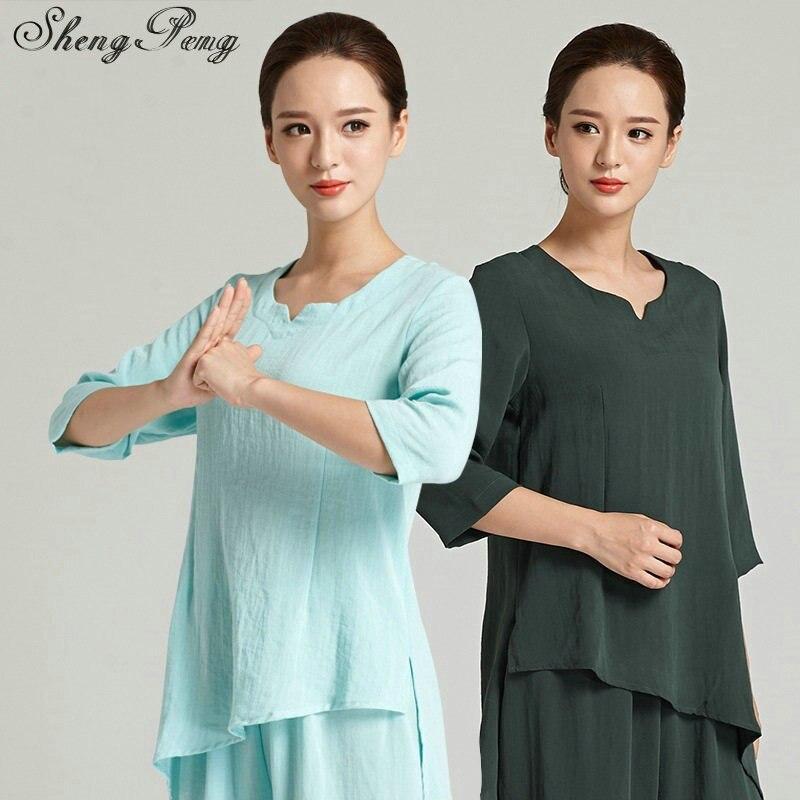 Традиционный Тай-чи одежды ушу Одежда Традиционный китайский кунг-фу одежда для женщин кунг-фу равномерное тайцзи одежда CC277