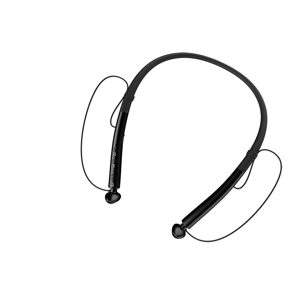 HBUDS V4.2 Bluetooth Headphones Neckband Magnetic Design Sport Earphones,Wireless Headset Stereo Noise Cancelling Earbuds w/ Mic edal 2017 new mini bluetooth wireless invisible earbuds earphones noise cancelling headphones headset