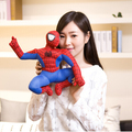 30cm 1Pcs High Quality Marvel Comics Item Spider-Man Spaider Man Movie Figure Soft Stuffed Spiderman Plush Toys Doll