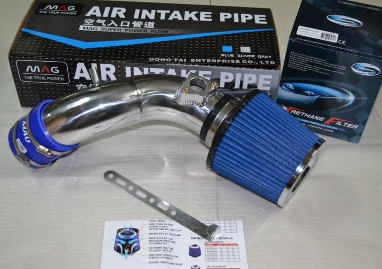 все цены на  High quality AIR INTAKE pipe kit+1 Air FILTER for Honda new Odyssey 2.4, please contact with me for other car models  онлайн