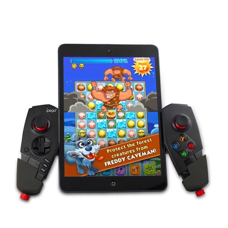 LANBEIKA PG-9055 télescopique sans fil pour téléphone Android manette de jeu Bluetooth pour PC 3.0 manette de jeu manette pour iPad IOS