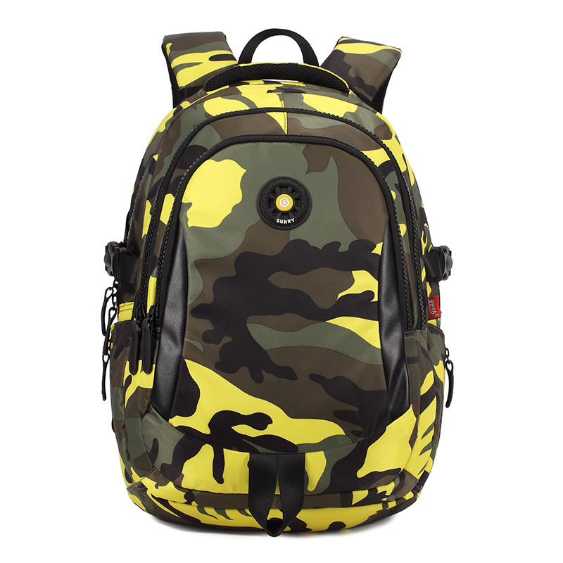 Image 5 - 3 Sizes Camouflage Waterproof Nylon School Bags for Girls Boys Orthopedic Children Backpack Kids Bag Grade 1   6 Mochila Escolar-in School Bags from Luggage & Bags