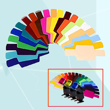 20Pcs Color Photographic Gels Filter for Canon Nikon Oloong Yongnuo Godox Flash Speedlite Speedlight Lighting Control Modifier(China (Mainland))