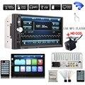 Универсальный многофункциональный 7 Дюймов HD Bluetooth Стерео Радио В Тире Сенсорный 2 DIN FM MP5 Плеер + 420 Твл ИК-Камеры