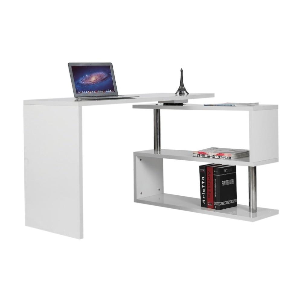 Contemporary Home Office Computer Desk Universal Laptop Corner Desk ...