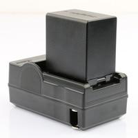 Bateria e Carregador de Bateria para JVC BN-VG138 LANFULANG BN-VG114 BN-VG114AC BN-VG114E BN-VG114E BN-VG114EU GZ-HM860 GZ-HM320