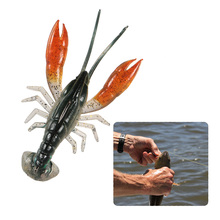 3-Pack Lifelike Craw w Hook