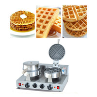 Double Head Waffle Maker Commercial Waffle Toaster