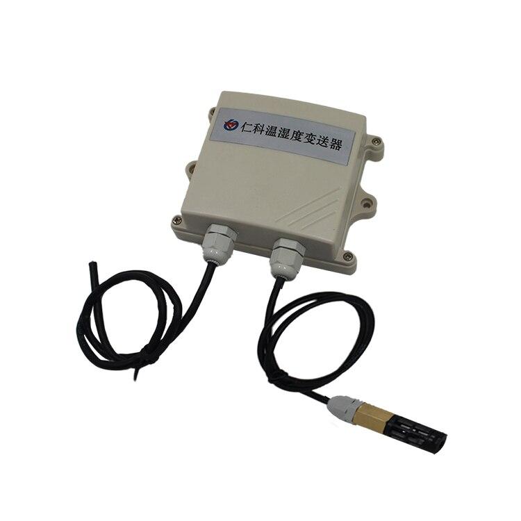 Livraison gratuite 1 pc transmetteur de capteur de température et d'humidité transmetteur RS485 avec sonde étanche