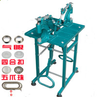 Punch Button Press Machines /Maker Foot Hand Press Machine for Metal Snap button ,Eyelets , Rivet ,Make holes