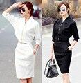 2016 осень и зима новый женский европейский мода небольшой ароматный ветер аристократической темперамент кружева мешок юбка два - костюм