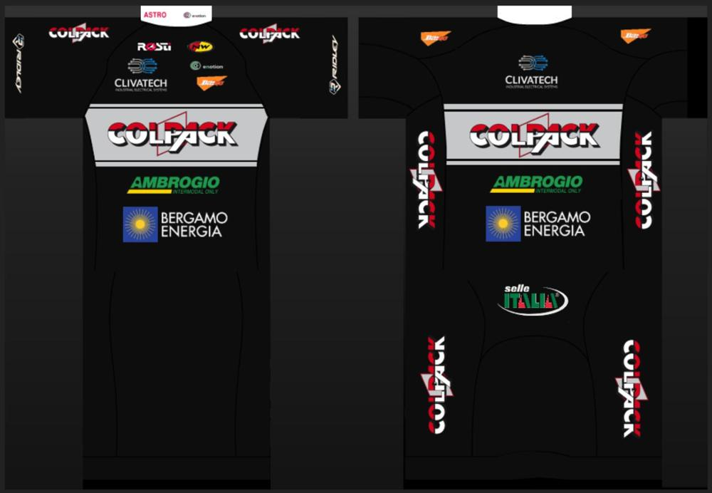 Cycling Jersey Cycle-Clothe Customization-Garment Pro-Team COLPACK ROSTI Factory Quick-Dry