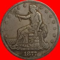 1877 Trade Dollar COIN COPY FREE SHIPPING