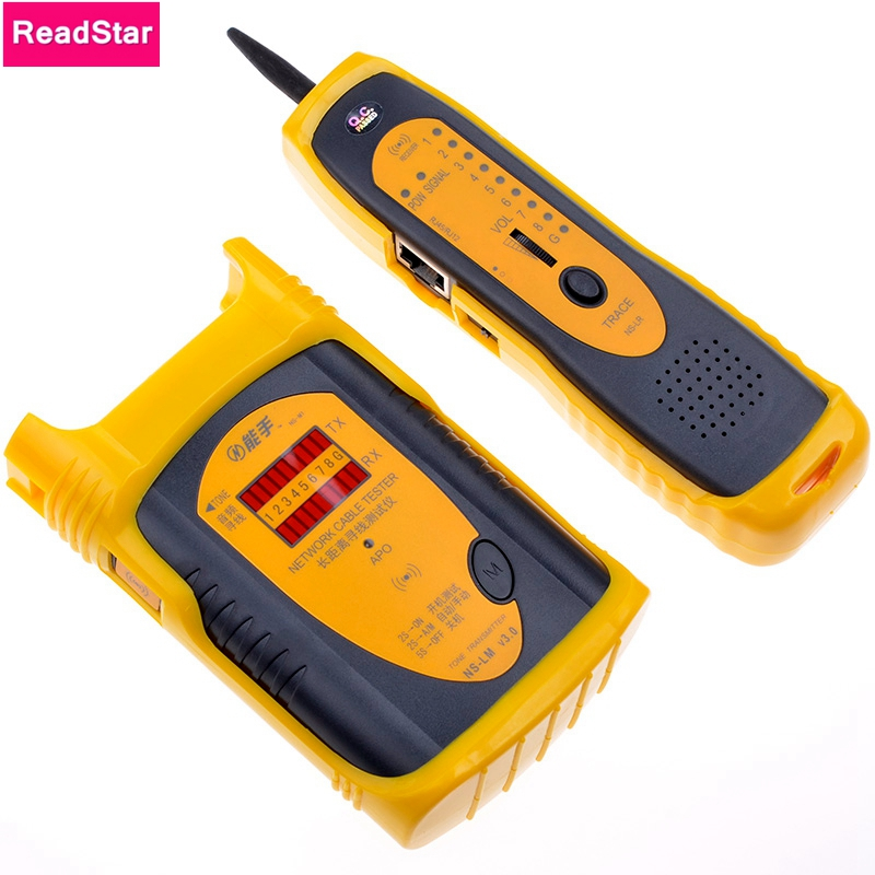 NENGSHOU NS-LM V3.0 Network LAN Telephone RJ45 /RJ11 Cable Toner Wire Tracker Line Toner Tracer Tester Long distance Wire Finder