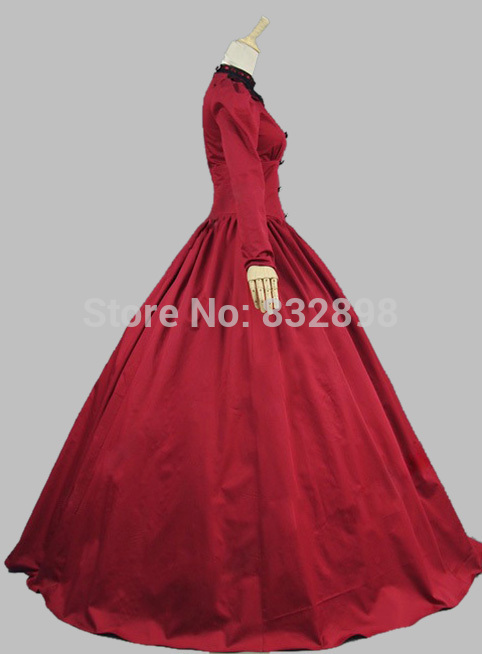 Victorian Theatrical Gown Gothic