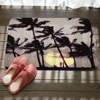 Пол коврики коралловый флис дома декоративный ковер Indoor прямоугольный коврик кухня бегун Нескользящие