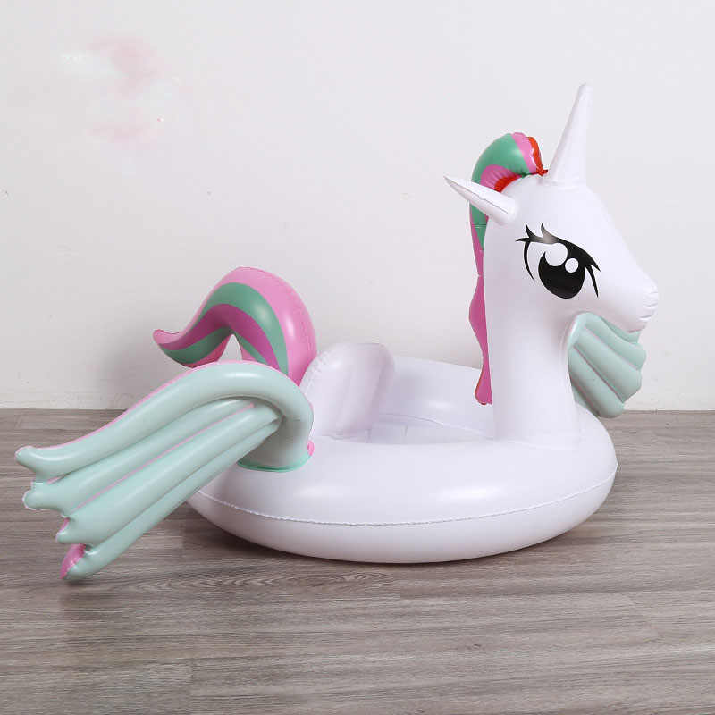 cdfe4b8418b4 Baby Inflatable Unicorn Pool Float Flamingo Ride On Kids Swimming ...