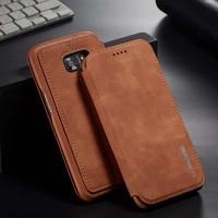 Funda abatible para teléfono móvil Samsung, carcasa magnética de cuero PU para Samsung Galaxy S21 S20 Ultra FE S10 S9 S8 Plus S10E S7 Edge S21FE S20FE