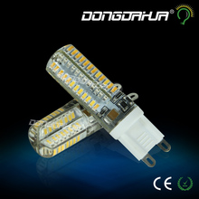 1pcs 220V 240V smd 3014 G9 LED 3W 5W LED Corn Light Bulb Super bright 360 degree Replace 30W Halogen Lamp mini candle spotlight