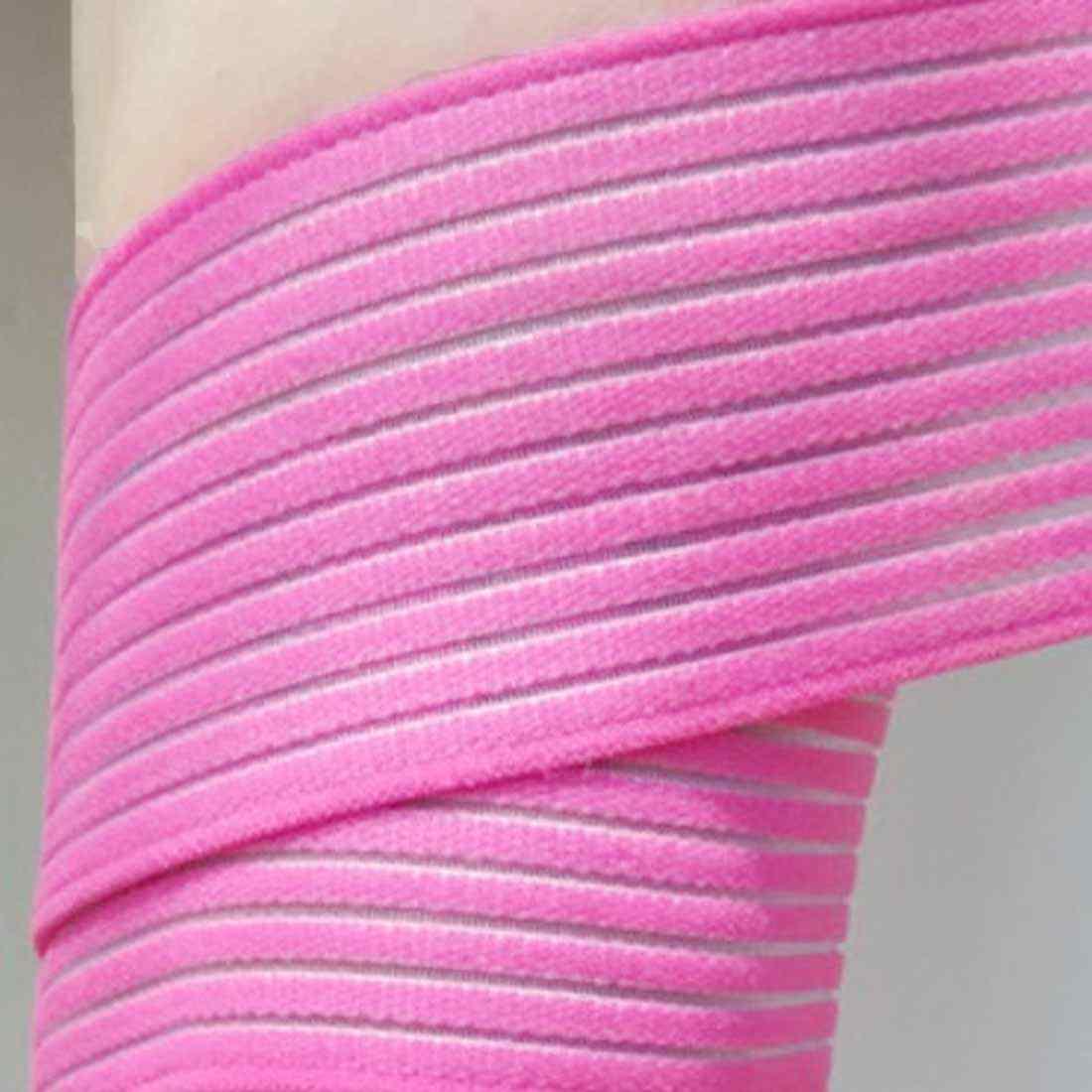 1PCS Elastico Fasciatura Del Nastro di Protezione Per La Caviglia Gamba Avvolgere il Polso Equipaggiamento Protettivo Sport Cinghia di Sostegno del Ginocchio Della Protezione di Stinco di Compressione