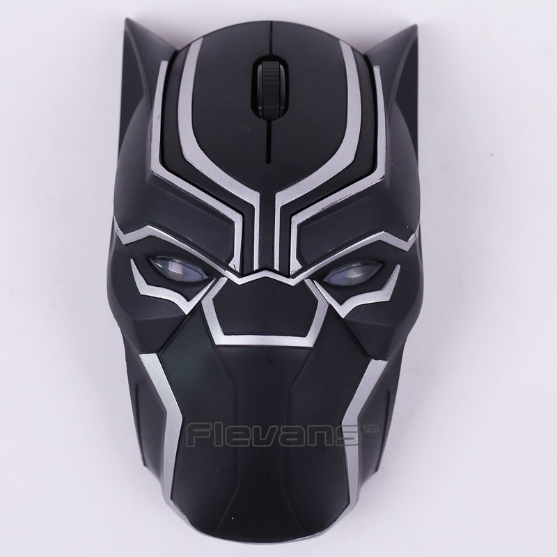 Cool Marvel Black Panther Wireless Mouse Laptop Computer Mice Collectible Figure расческа original panther black