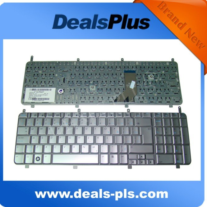 For HP HP HDX 18 18T HDX18 X18 X18T Series Canadian French Keyboard Silver , NEWFor HP HP HDX 18 18T HDX18 X18 X18T Series Canadian French Keyboard Silver , NEW