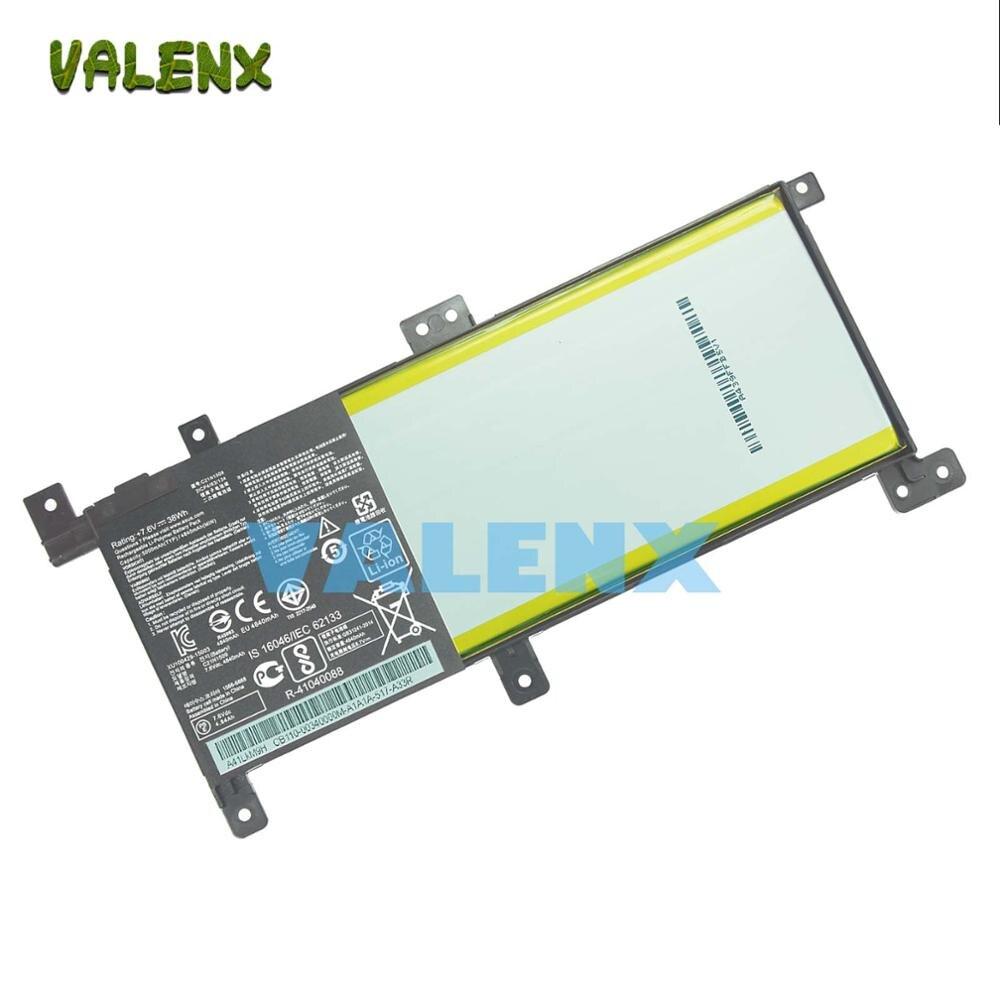 OEM C21N1509 batterie pour asus X556U X556UA X556UB X556UJ X556UQ X556UV 7.6 V