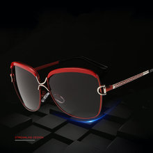 High Quality Sunglasses Women Shade Oval Frame Driving UV400 Fashion 2017 New Metal Alloy Frame Lentes