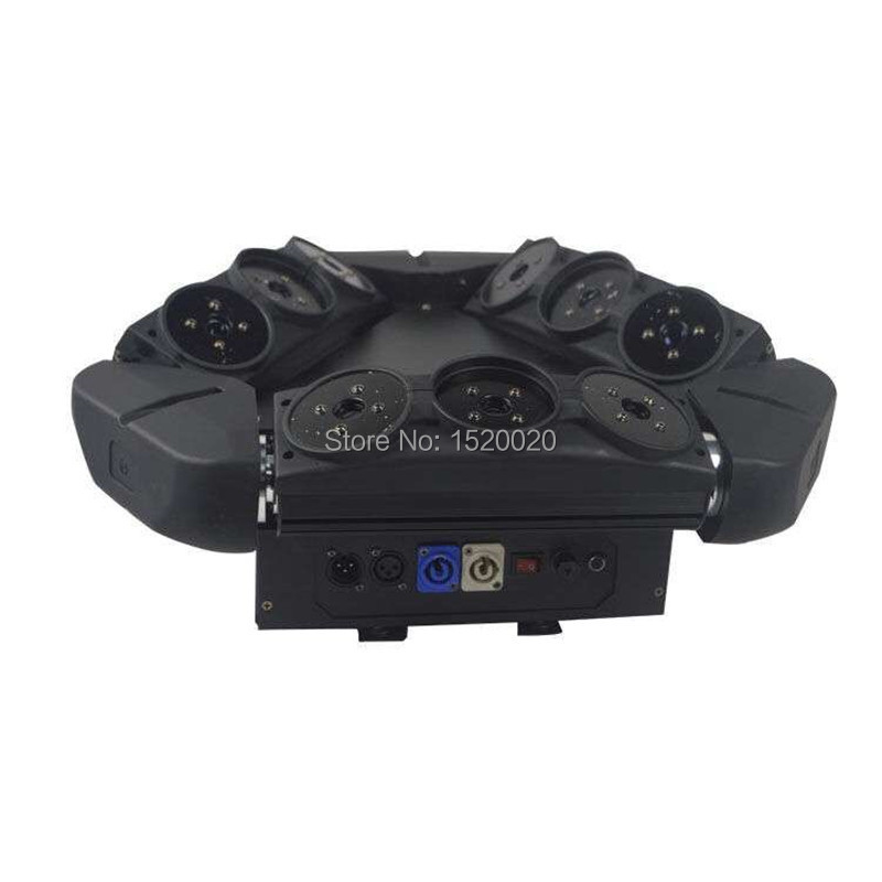 9 eyes Moving Head Spider Light  RGB Color Triangle Spider Moving Head Light  Laser  Dj Light Disco Club event 9 moving head laser spider light green color 50mw 9 triangle spider moving head light laser dj light disco club event