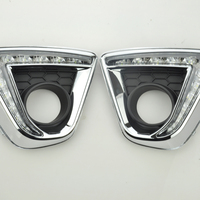 1PAIR High Quality LED Car DRL Daytime Running Lights With Fog Lamp Hole For Mazda CX
