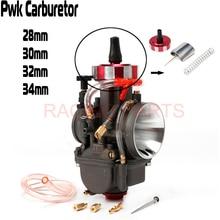 PE PWK 28 30 32 34mm Carb Motorcycle Carburetor For Modify Off Road Dirt Bike MX Motocross ATV Quad 125cc-250cc