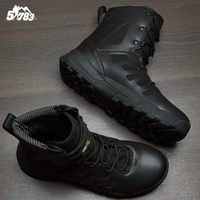 2018 Winter Autumn Men Military Boots Special Force Tactical Desert Combat airsoft hunting Army Work Shoes Leather Snow Boots