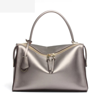 Luxury Women Designer Handbags High Quality Brand Boston Bag Italy Winter Shoulder Bag Patent Leather Tote