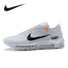 get cheap bca4f c8f31 Nike Air Max 97 Off Blanc Chaussures de Course Blanc Sport Chaussures Pour  Hommes AJ4585-