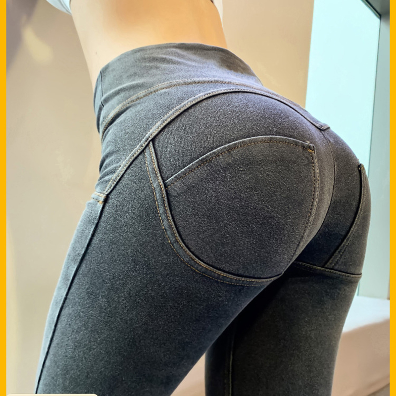 High Quality Sexy Women Casual   Jeans   Skinny Lift Butt Leggings Bodycon High Waist Denim Pants Push Up Hip Pencil   Jeans   Wholesale