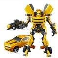 Figura de ação brinquedos transformação bumblebee Optimus prime meninos anime sem caixa de origem