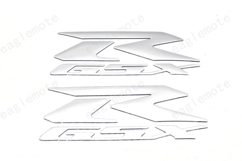 GSXR GSX R Motorcycle Reflective Sticker and decals A pair