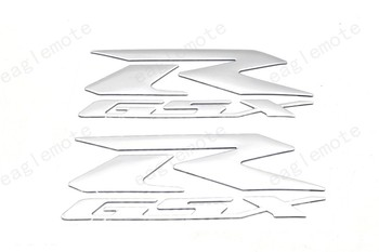 GSXR GSX R Motorcycle Reflective Sticker and decals A pair For SUZUKI GSXR 600 750 1000 K1 K2 K3 K4 K5 K6 K7 K8 H1 image