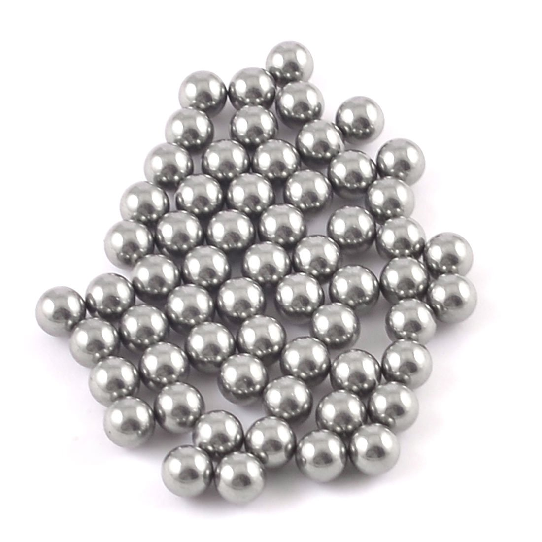 60 Pcs 4mm Dia Bicycle Steel Bearing Ball Replacement