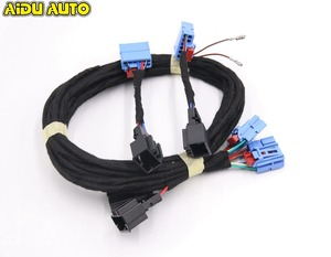 Image 2 - For VW Golf 7 R Mounting Golf 7.5 light 2017 Flowing water LED Dynamic Sequential taillight cable wire Harness adapter