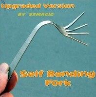 New Arrival Self Bending Fork 2.0 (Upgraded Version) Mentalism Magic Gimmick Close Up Magic Props Magic Tricks Free Shipping
