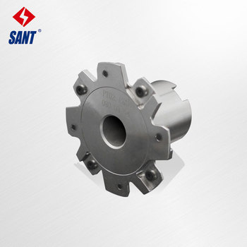 Indexable milling cutter Match insert XSEQ1202 Side and face milling cutter disc PT02