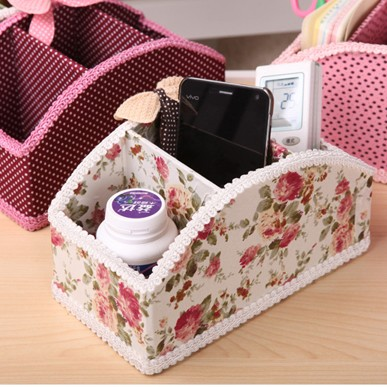 Multifunctional Receive case remote desktop received desk box storage box 3case 20*11*11cm free shipping