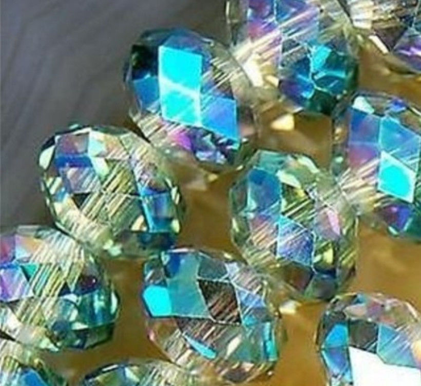6b2686504 جديد (دقيقة Order1) 6*8 MM 360 pcs متعدد الألوان كريستال DIY فضفاض الخرز  الحجر الطبيعي يدوية مجوهرات الأزياء صنع تصميم 15 بوصة