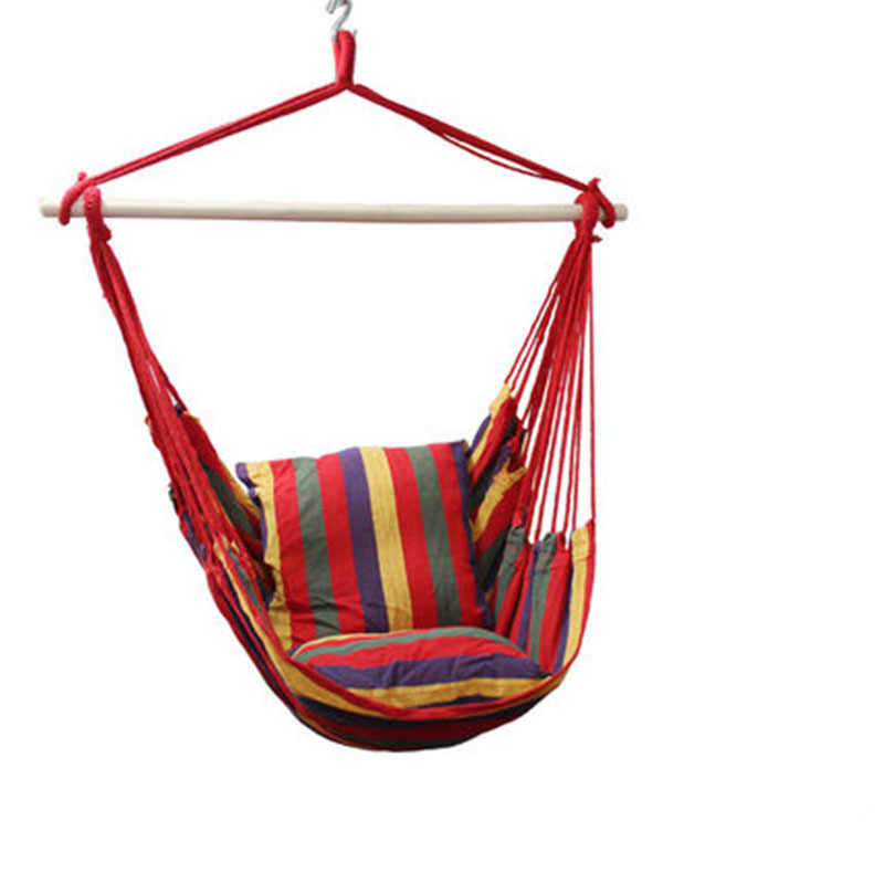 5 Color Garden Patio Porch Hanging Cotton Rope Swing Chair Seat