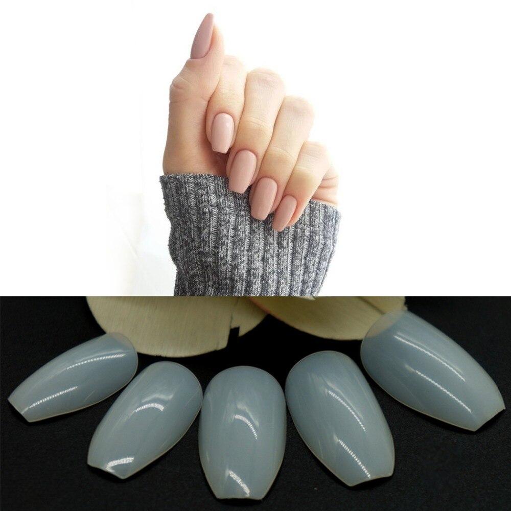 500pcs Fashion Fake Nails Press On Girls Finger Beauty False Nail