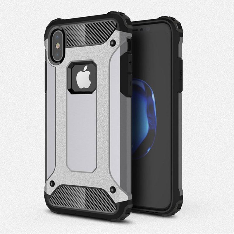 Robusna dvoslojna torbica za oklop za iPhone 11 Pro XS Max X XR - Oprema i rezervni dijelovi za mobitele