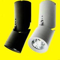 Whlosesale Lighting furniture for clothing store 12W/15W/20W COB LED track light 110V 240V white for clothing shop light